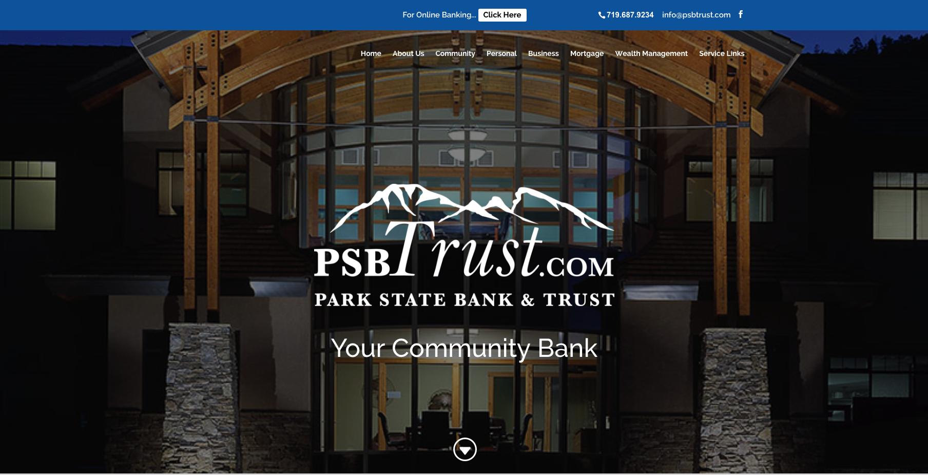 Harlan Designs Park State Bank